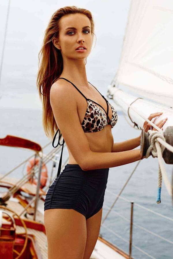 angelsin siyah yuksel bel sik bikini alt bikini alt angelsin 9775 32 B