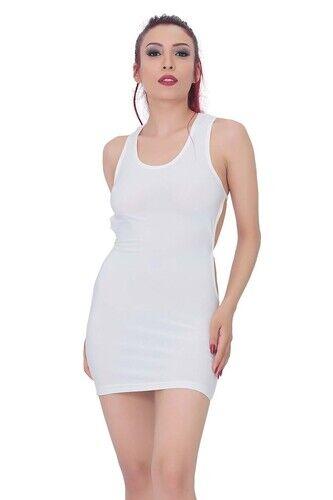 kadin bel dekolteli super mini elbise 1293 10 B
